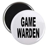 Game Warden Magnet