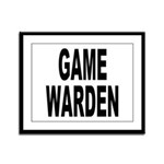 Game Warden Framed Panel Print