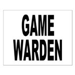 Game Warden Small Poster
