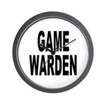 Game Warden Wall Clock
