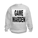 Game Warden (Front) Kids Sweatshirt