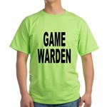 Game Warden (Front) Green T-Shirt