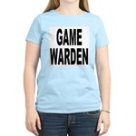 Game Warden (Front) Women's Pink T-Shirt