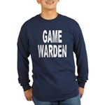 Game Warden (Front) Long Sleeve Dark T-Shirt
