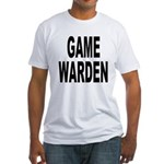 Game Warden (Front) Fitted T-Shirt