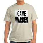 Game Warden (Front) Ash Grey T-Shirt