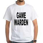 Game Warden (Front) White T-Shirt