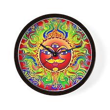 Lynn Red Chakra Wall Clock