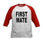 First Mate (Front) Kids Baseball Jersey