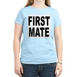 First Mate (Front) Women's Pink T-Shirt