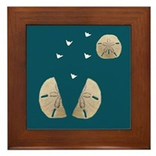 SAND DOLLAR Framed Tile