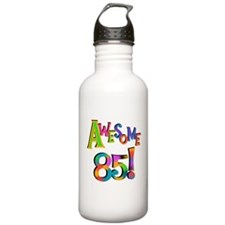 Awesome 85 Birthday Sports Water Bottle