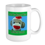 Hugged Monkey? Tasse