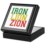 Iron Lion Zion Keepsake Box