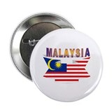 "Malaysia flag ribbon 2.25"" Button (10 pack)"