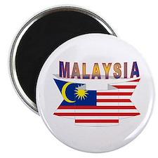 Malaysia flag ribbon Magnet