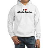I Love Alexis Jordyn Jumper Hoody