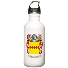 Pinckney Coat of Arms (Family Crest) Water Bottle