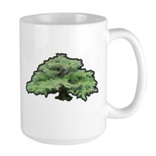 Bonzai Tree Fractal Mugs
