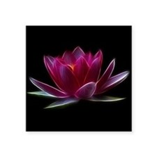 Lotus Flower Water Plant Sticker