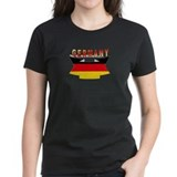 Germany flag Ribbon Tee