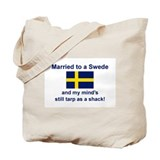Married To A Swede Tote Bag