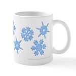 3-D Snowflakes Mug