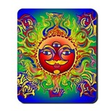 Lynn Blue Chakra Mousepad