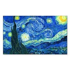 van gogh starry night Decal