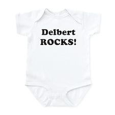 Delbert Rocks! Infant Bodysuit