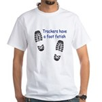 Foot Fetish White T-Shirt
