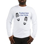 Foot Fetish Long Sleeve T-Shirt