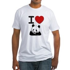 Cute Panda heart Shirt