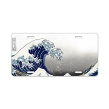 great wave of Kanagawa hoku Aluminum License Plate