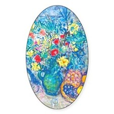 marc chagall still life Decal