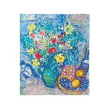marc chagall still life Throw Blanket