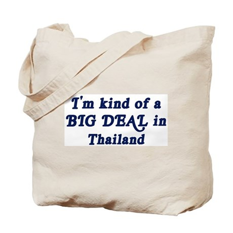 Big Deal in Thailand Tote Bag