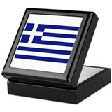 Flag of Greece Keepsake Box