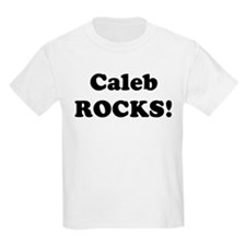 Caleb Rocks! Kids T-Shirt