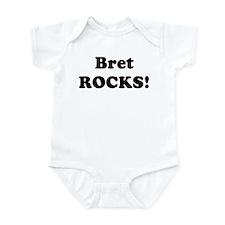 Bret Rocks! Onesie