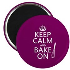 "Keep Calm and Bake On 2.25"" Magnet (100 pack)"