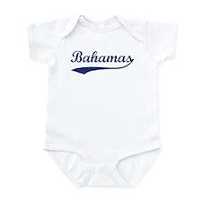 Blue Vintage: Bahamas Onesie