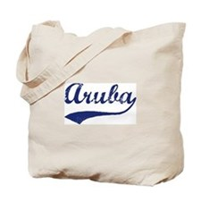 Blue Vintage: Aruba Tote Bag