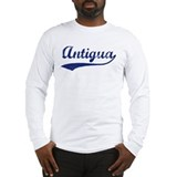 Blue Vintage: Antigua Long Sleeve T-Shirt