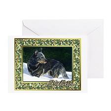 Australian Cattle Dog Christmas Greeting Cards