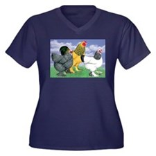 Three Brahmas Plus Size T-Shirt