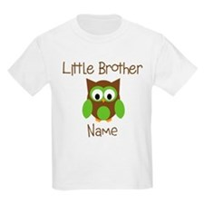 Personalized Little Brother T-Shirt