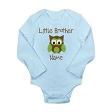 Personalized Little Brother Baby Outfits