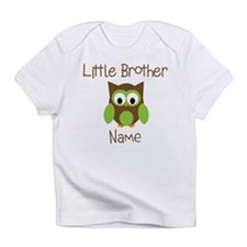 Personalized Little Brother Infant T-Shirt