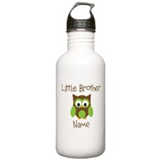 Personalized Little Brother Sports Water Bottle